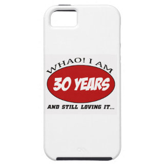 cool 30 years old birthday designs iPhone 5/5S cases