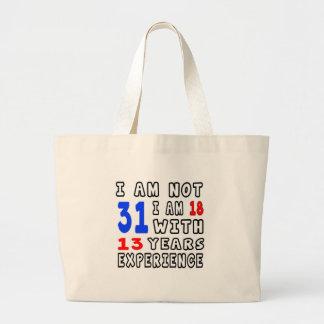 Cool 31 Birthday Designs Bags