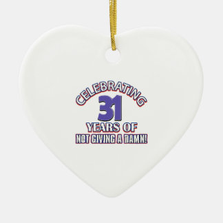 Cool 31 year old designs ornament