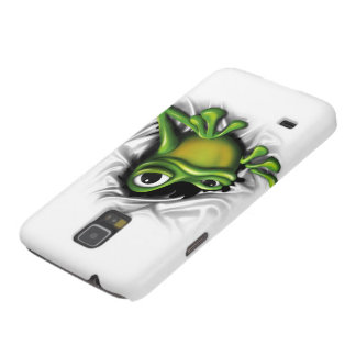 Cool 3D Frog Galaxy S5 Cases