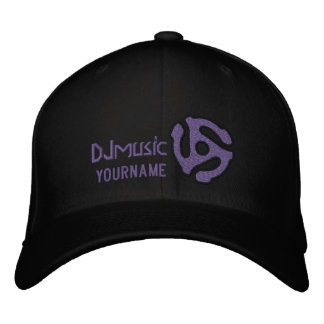 COOL 45 spacer DJ CAP Personalize this Embroidered Baseball Cap