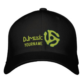 COOL 45 spacer DJ CAP Personalize this Embroidered Baseball Caps