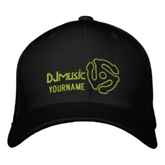 COOL 45 spacer DJ CAP Personalize this Embroidered Cap