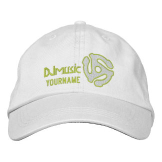 COOL 45 spacer personalized DJ embroidered cap