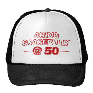 cool 50 years old gifts trucker hats