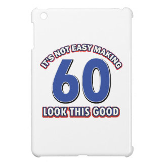Cool 60 year birthday designs case for the iPad mini