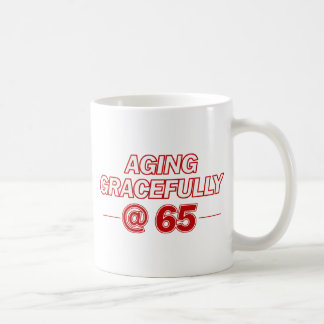 cool 65 years old gifts basic white mug