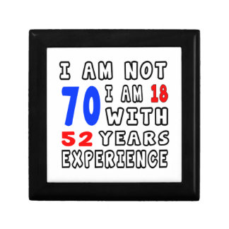 Cool 70 Birthday Designs Gift Boxes