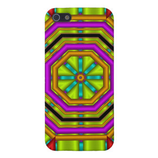 Cool abstract case with geometric shapes iPhone 5 case