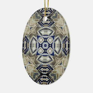 Cool Abstract Ceramic Oval Decoration