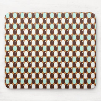 Cool   abstract chocolate  mint  candy mousepad