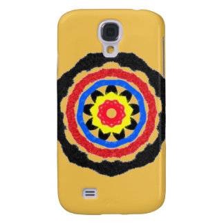 Cool abstract circle pattern galaxy s4 case