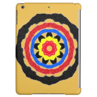 Cool abstract circle pattern iPad air cover