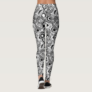 Cool Abstract Circles Leggings