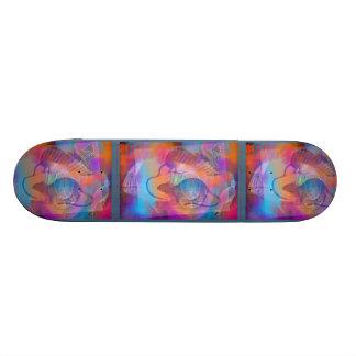 Cool Abstract Design 20.6 Cm Skateboard Deck