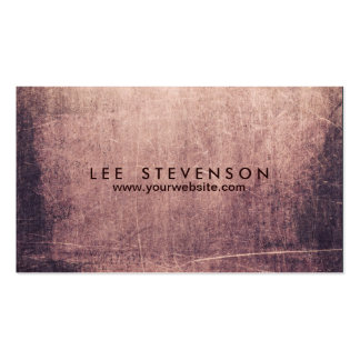 Cool Abstract Grunge Artist Edgey Pack Of Standard Business Cards