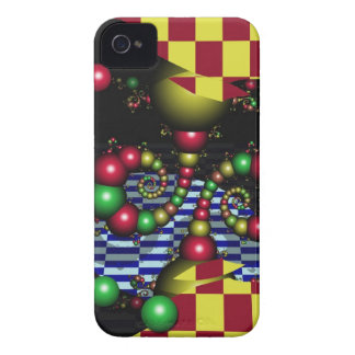 Cool abstract iPhone 4 case-mate case Ball tricks