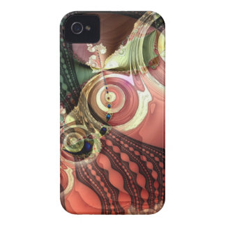 Cool abstract lace & circles Blackberry bold case