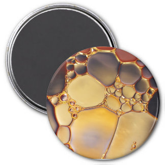 Cool Abstract Liquid Bubbles Magnet