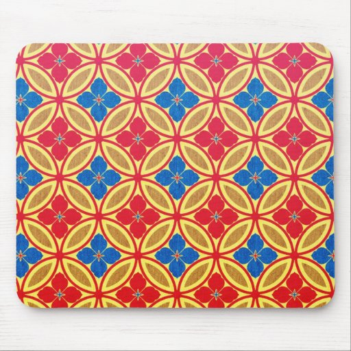Cool  abstract  oriental japanese pattern mousepad