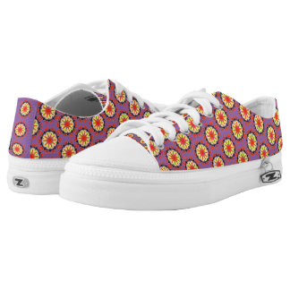 Cool abstract patter low tops