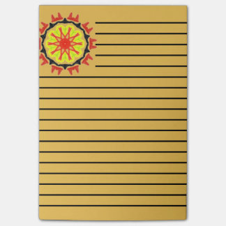 Cool abstract patter post-it notes