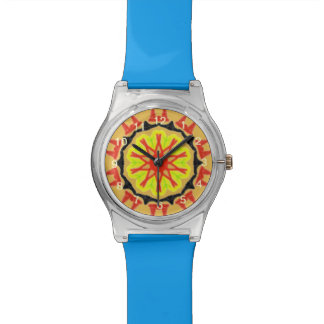 Cool abstract patter watch
