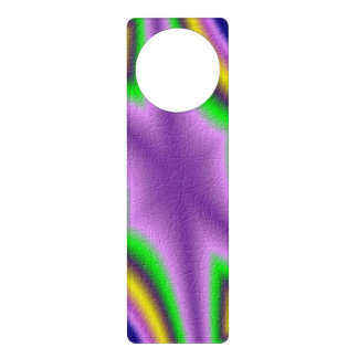Cool abstract pattern door hanger