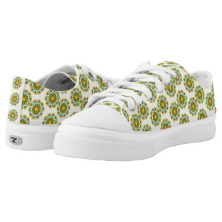 Cool abstract pattern low tops