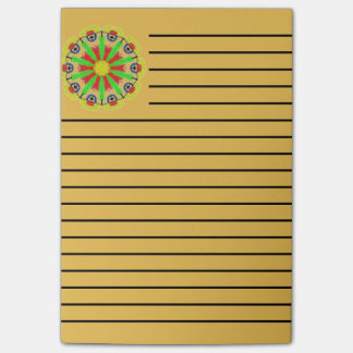 Cool abstract pattern post-it notes