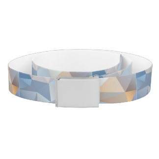 Cool Abstract Triangle Pattern Belt