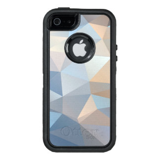 Cool Abstract Triangle Pattern OtterBox Defender iPhone Case