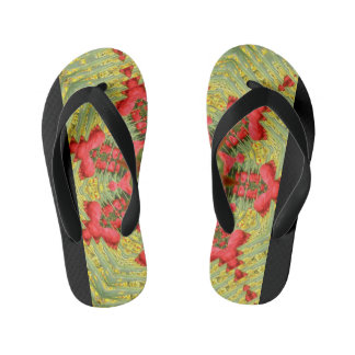 Cool Abstract Tulip Flip-Flop Flip Flops