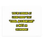 Cool Accountant Is NOT an Oxymoron Postcard