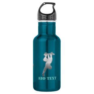 Cool Add Text Funky Metal Skater Bottle 532 Ml Water Bottle