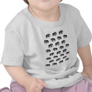 Cool Africa Pattern Elephant Picture Shirt