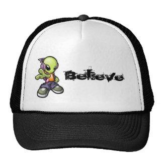 Cool Alien - Believe Hat