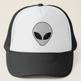 Cool Alien Head Truckers Hat