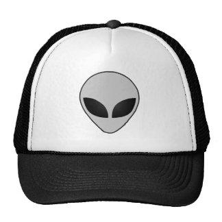 Cool Alien Head Truckers Hat