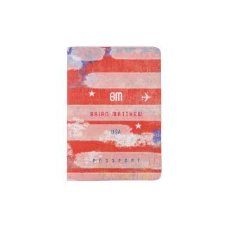 cool american citizen travel passport holder