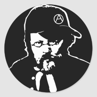 Cool Anarcho Proudhon Sticker