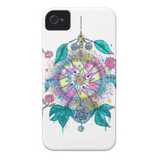 Cool and colorful dreamcatcher iPhone 4 Case-Mate cases