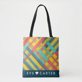 Cool and Stylish Abtract Art Tote Bag