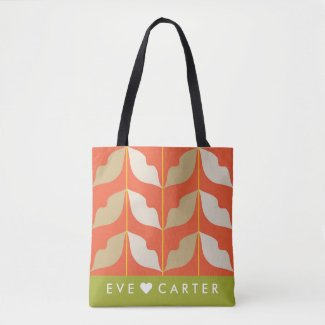 Cool and Stylish White Gold Leaves Tote Bag