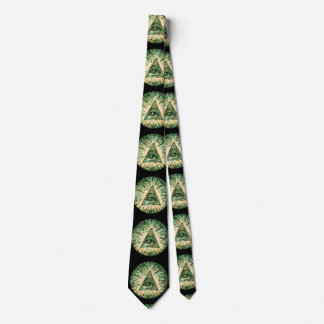 Cool and Unique Camouflage Illuminati Tie