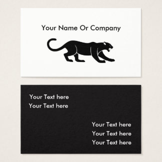 Cool Animal Simple Businesscards Business Card