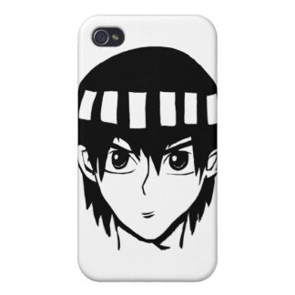 Cool anime character bro cover for iPhone 4