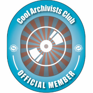 Cool Archivists Club Acrylic Cut Out