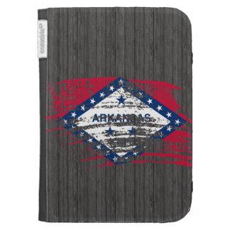Cool Arkansan flag design Kindle Case