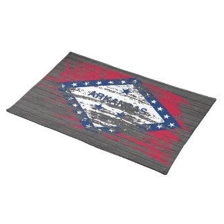 Cool Arkansan flag design Place Mat